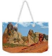 Colored Sandstones Valley Of Fire Weekender Tote Bag