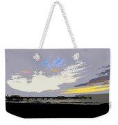 Colored Sky Weekender Tote Bag