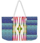 Colorful Abstract 13 Weekender Tote Bag