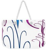 Colorful Abstract 9 Weekender Tote Bag