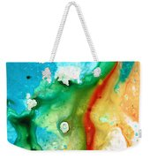 Colorful Abstract Art - Captured - By Sharon Cummings Weekender Tote Bag