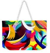 Colorful Abstract Art Weekender Tote Bag
