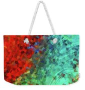 Colorful Abstract Art - Rejoice - Sharon Cummings Weekender Tote Bag