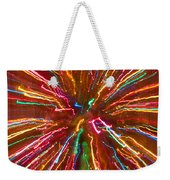 Colorful Abstract Photography Weekender Tote Bag