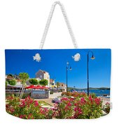 Colorful Adriatic Town Of Rogoznica Weekender Tote Bag
