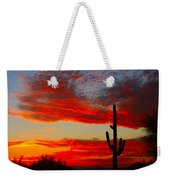 Colorful Arizona Sunset Weekender Tote Bag