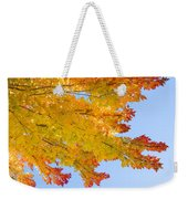 Colorful Autumn Reaching Out Weekender Tote Bag