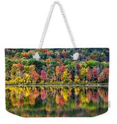 Colorful Autumn Reflections Weekender Tote Bag