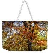 Colorful Autumn Tree In Southwest Michigan By Gun Lake Weekender Tote Bag