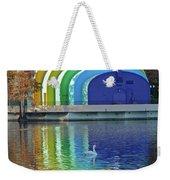 Colorful Bandshell Weekender Tote Bag