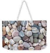 Colorful Beach Pebbles Weekender Tote Bag