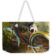 Colorful Bike Weekender Tote Bag