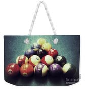 Colorful Billiard Balls Weekender Tote Bag