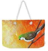 Colorful Bird Art Weekender Tote Bag