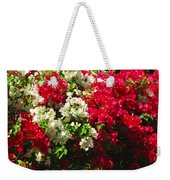 Colorful Bougainvilleas Weekender Tote Bag