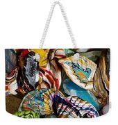 Colorful Bright Corals All In A Row  Weekender Tote Bag