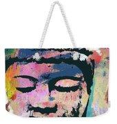 Colorful Buddha 1- Art By Linda Woods Weekender Tote Bag