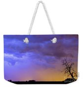 Colorful C2c Lightning Country Landscape Weekender Tote Bag