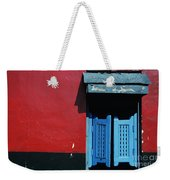 Colorful Caribbean Door Weekender Tote Bag
