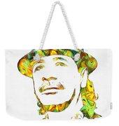 Colorful Carlos Santana Weekender Tote Bag