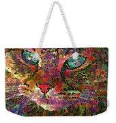 Flower Cat 1 Weekender Tote Bag