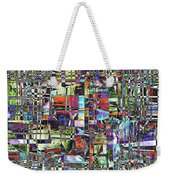 Colorful Chaotic Composite Weekender Tote Bag
