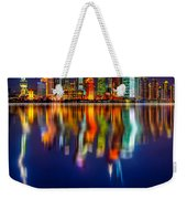 Colorful City Reflection 17 06 2015 Weekender Tote Bag