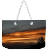 Colorful Clouds In Dawn Sky Weekender Tote Bag