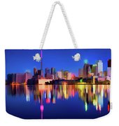 Colorful Cn Tower  Weekender Tote Bag