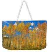Colorful Colorado Autumn Landscape Weekender Tote Bag
