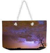 Colorful Colorado Cloud To Cloud Lightning Thunderstorm 27 Weekender Tote Bag
