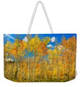 Colorful Colorado Fall Foliage Weekender Tote Bag