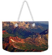 Colorful Colorado Planet Earth Weekender Tote Bag