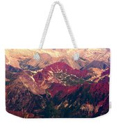 Colorful Colorado Rocky Mountains Weekender Tote Bag