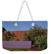 Colorful Commercial Building Exterior Weekender Tote Bag