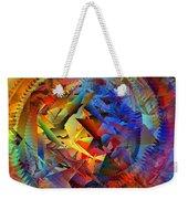 Colorful Crash 10 Weekender Tote Bag