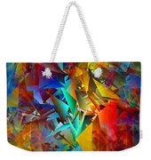 Colorful Crash 11 Weekender Tote Bag