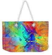 Colorful Crash 9 Weekender Tote Bag