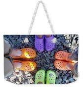 Colorful Crocs Weekender Tote Bag
