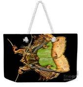 Colorful Cryptic Moth Weekender Tote Bag