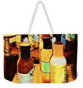 Colorful Culinary Collection Weekender Tote Bag