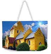 Colorful Danish Church Weekender Tote Bag