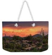 Colorful Desert Skies At Sunset  Weekender Tote Bag