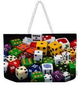 Colorful Dice 2 Weekender Tote Bag