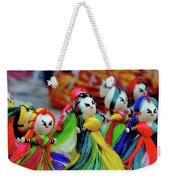 Colorful Dolls Weekender Tote Bag