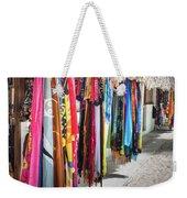 Colorful Dominican Garments Weekender Tote Bag
