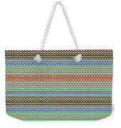 Colorful Dots N Mini Circles In Line Patterns With Background Textures Fineartamerica.com Licensing  Weekender Tote Bag