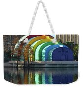 Colorful Downtown Orlando Weekender Tote Bag