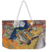 Colorful Earth History Weekender Tote Bag