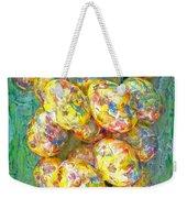 Colorful Eggs Weekender Tote Bag